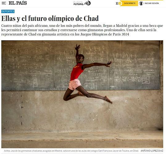 El equipo olímpico de Chad