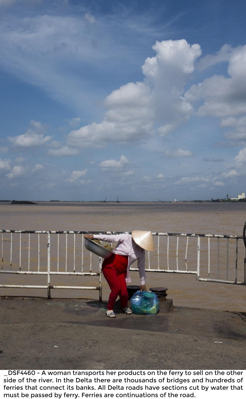 Erosion in the Mekong Delta - Vietnam