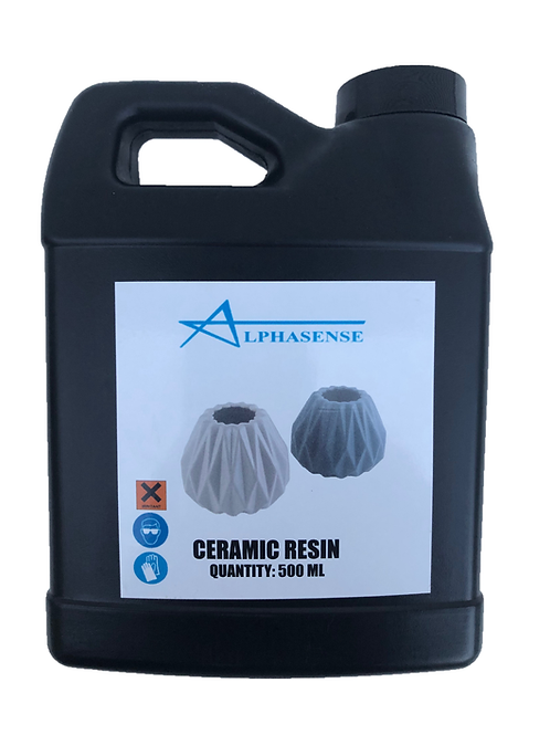 3D Ceramic Resin for SLA, LCD and DLP Printers