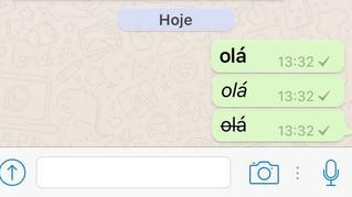 Saiba como usar as novidades nas mensagens do Whatsapp
