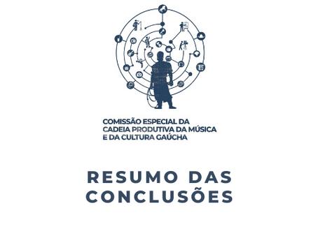Resumo das conclusões da Comissão Especial