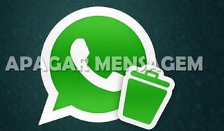 WhatsApp agorapermite apagarmensagens enviadas