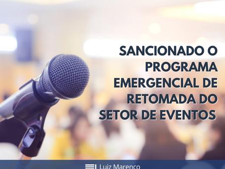 Programa Emergencial de Retomada do Setor de Eventos (Perse) é sancionado