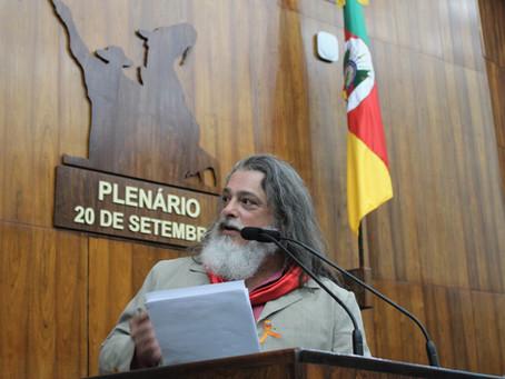 Marenco quer folclore rio-grandense nas escolas