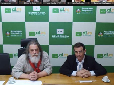 Marenco preside reunião entre MTG e Assembleia e apresenta projetos à nova presidência da entidade