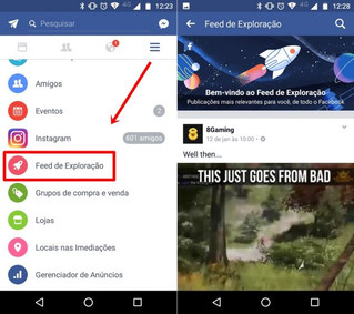 """Facebook agora tem """"segundo"""" feed de notícias"""