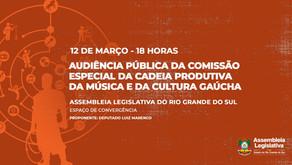 Comissão traz representantes de Pernambuco e Bahia para debater a cadeia produtiva da cultura