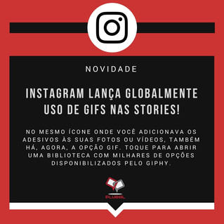 Instagram libera GIFs nas Stories