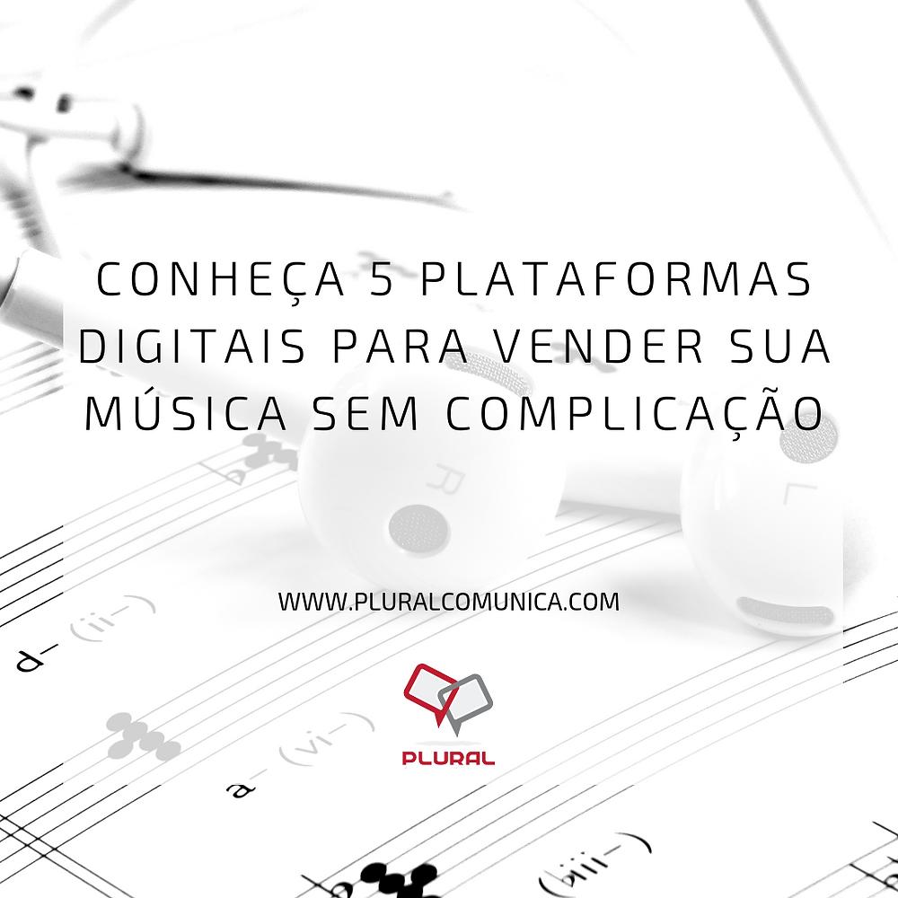 plataforma de vendas música na internet