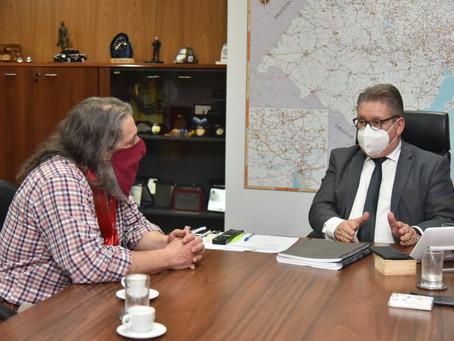 Vice-governador confirma envio do plano de modernização da carreira da BM à ALERGS ainda neste ano