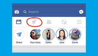 Eis a explicação para o ícone de foguete que apareceu (ou vai aparecer)no seu Facebook