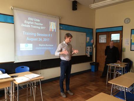 2017 ESU Chile Debate Training Program for teachers 1/3