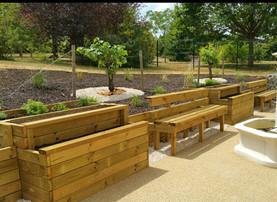 Aménagement jardin thérapeutique Maison de retraite