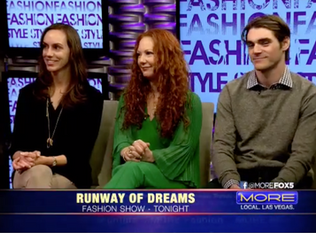Runway of Dreams and Zappos Adaptive Fashion Show interview on MORE FOX5 - Las Vegas, NV