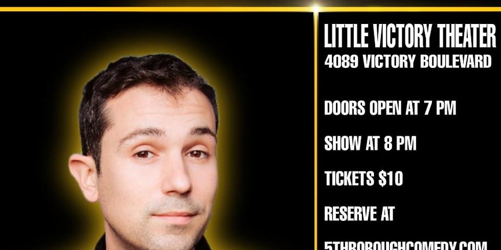 5th Borough Comedy Festival - Mike Recine Headlines Little Victory Theater