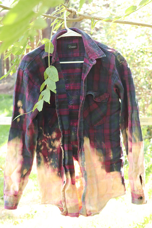 purp flannel