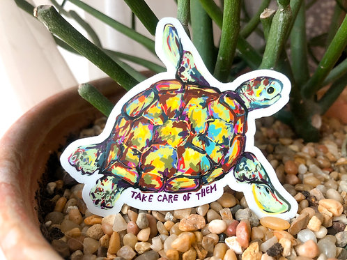 Maggie the turtle
