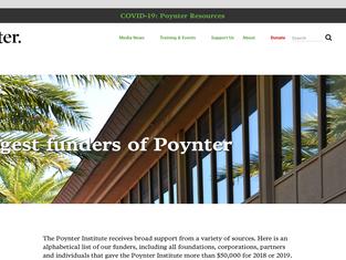 Poynter.org - Major Funders
