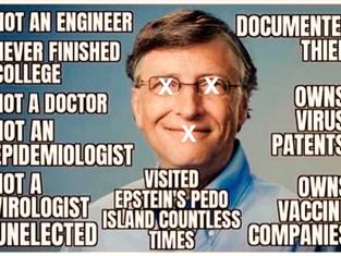 Bill Gates - Fake Philanthropist
