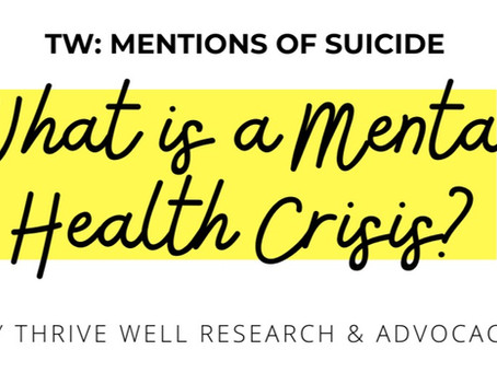 What is a Mental Health Crisis (Part 2)