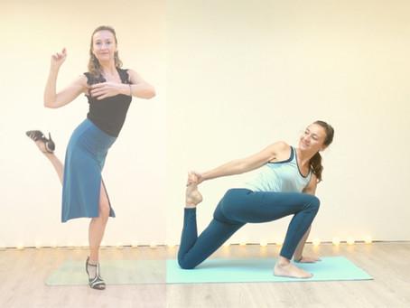5 yoga oefeningen voor tango dansers