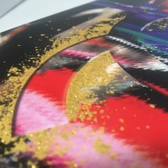 Glitter oro spot a registro