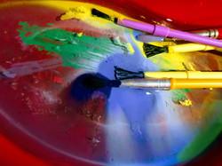 paint brushes photography