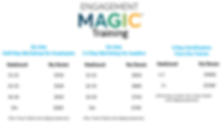 Updated Pricing Table for Web Page 12.4.