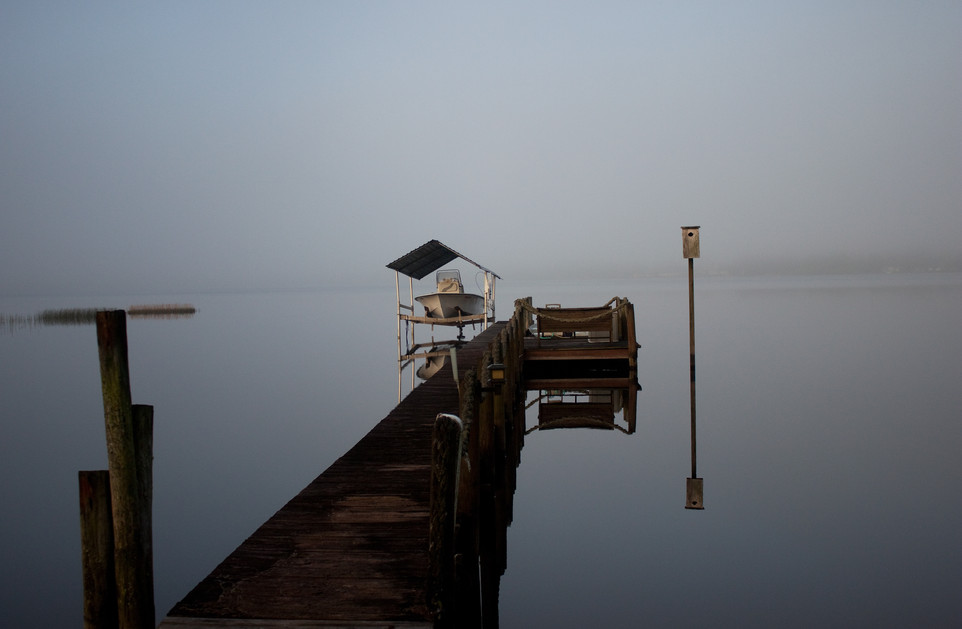 Mirrored in the Fog