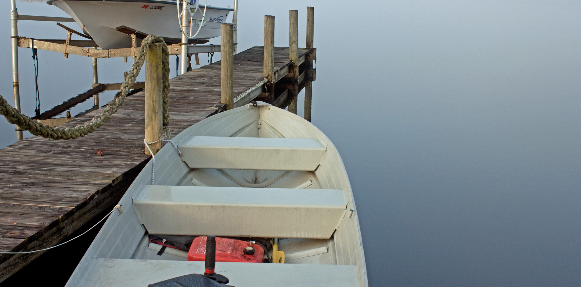 Hugging the Dock