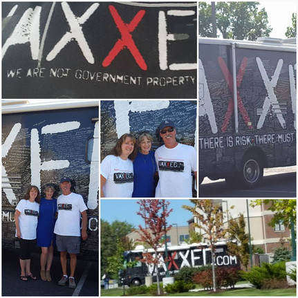 Sign the VAXXED BUS