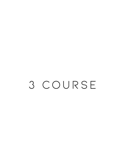 3 Courses
