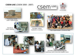 CSEM-UAE
