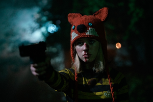 Photo of actress Lulu Wilson from horror movie BECKY