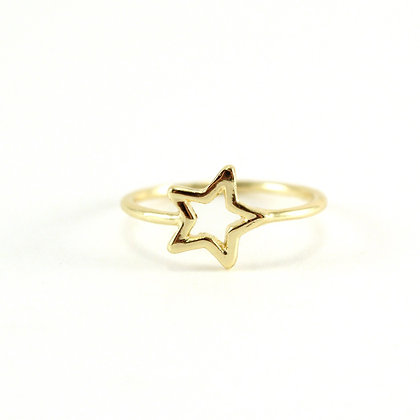 The Starlight Ring in Gold