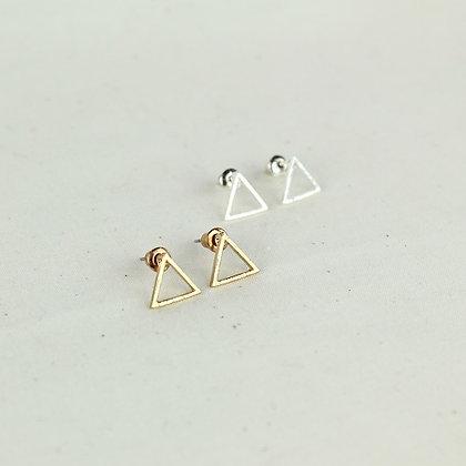 Simple Triangle Earrings