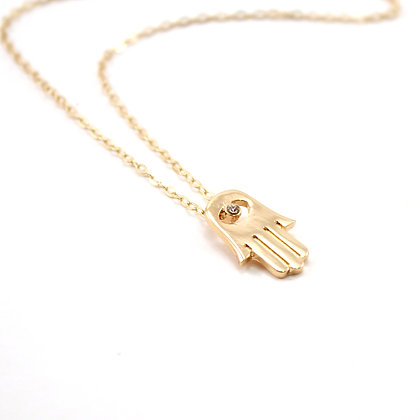 The Hamsa Necklace
