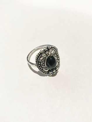 Detailed Shield Ring