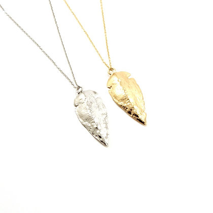 The Dipped Arrowhead Necklace