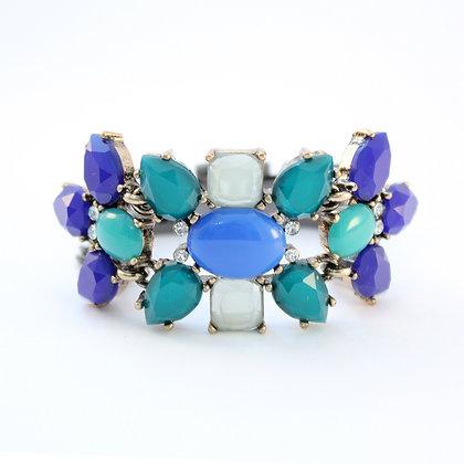 The Aquamarine Gem Bracelet
