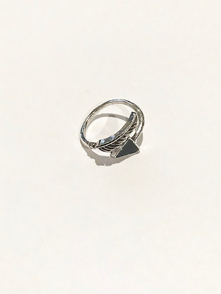 Feathered Arrow Ring