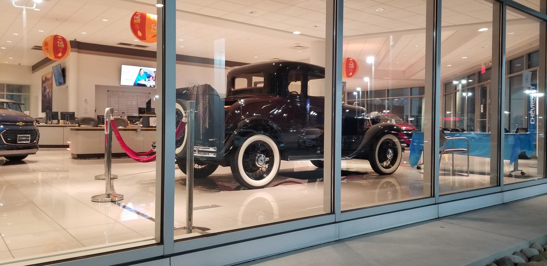Paul Fuqua 1931 Chevrolet Sport Coupe
