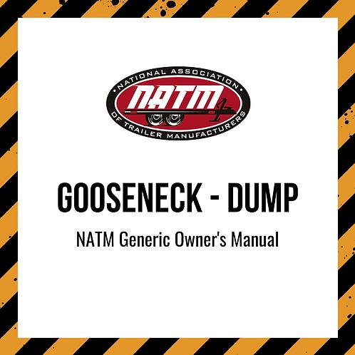 Generic Owner's Manual - Gooseneck Dump