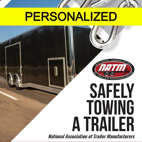Personalized Towing Brochure