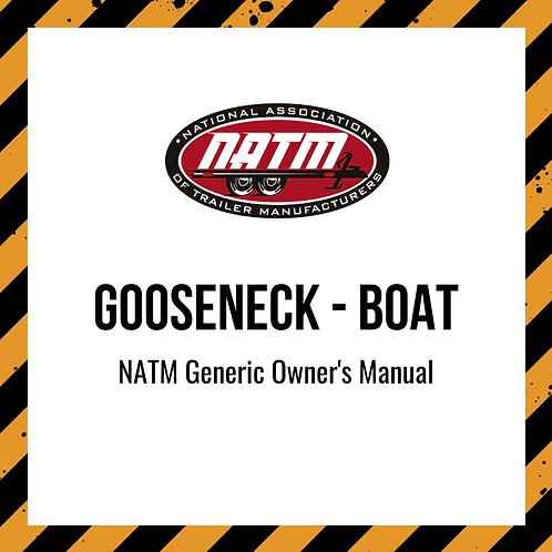 Generic Owner's Manual - Gooseneck Boat