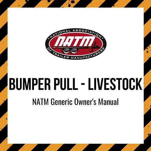 Generic Owner's Manual - Bumper Pull Livestock