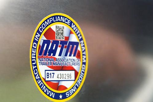 Heavy Duty Compliance Decal