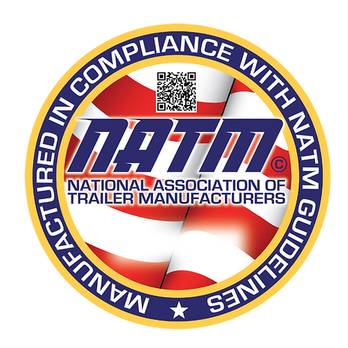 NATM Compliance Decal Table Tents