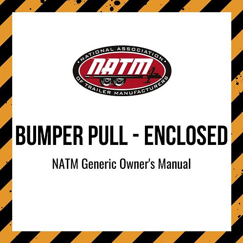 Generic Owner's Manual - Bumper Pull Enclosed