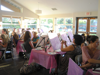 A Mother's Day Paint Party!